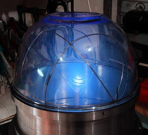 Fusor de partículas casero